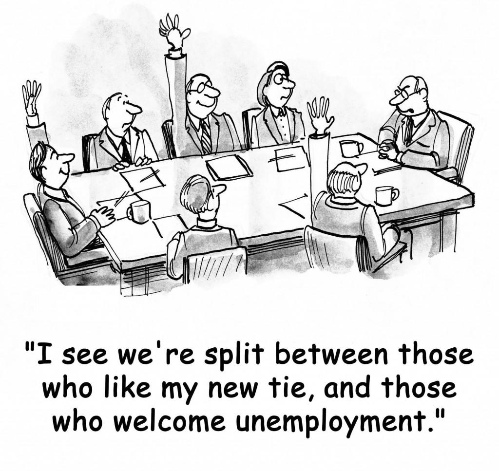 Unemployment Cartoon