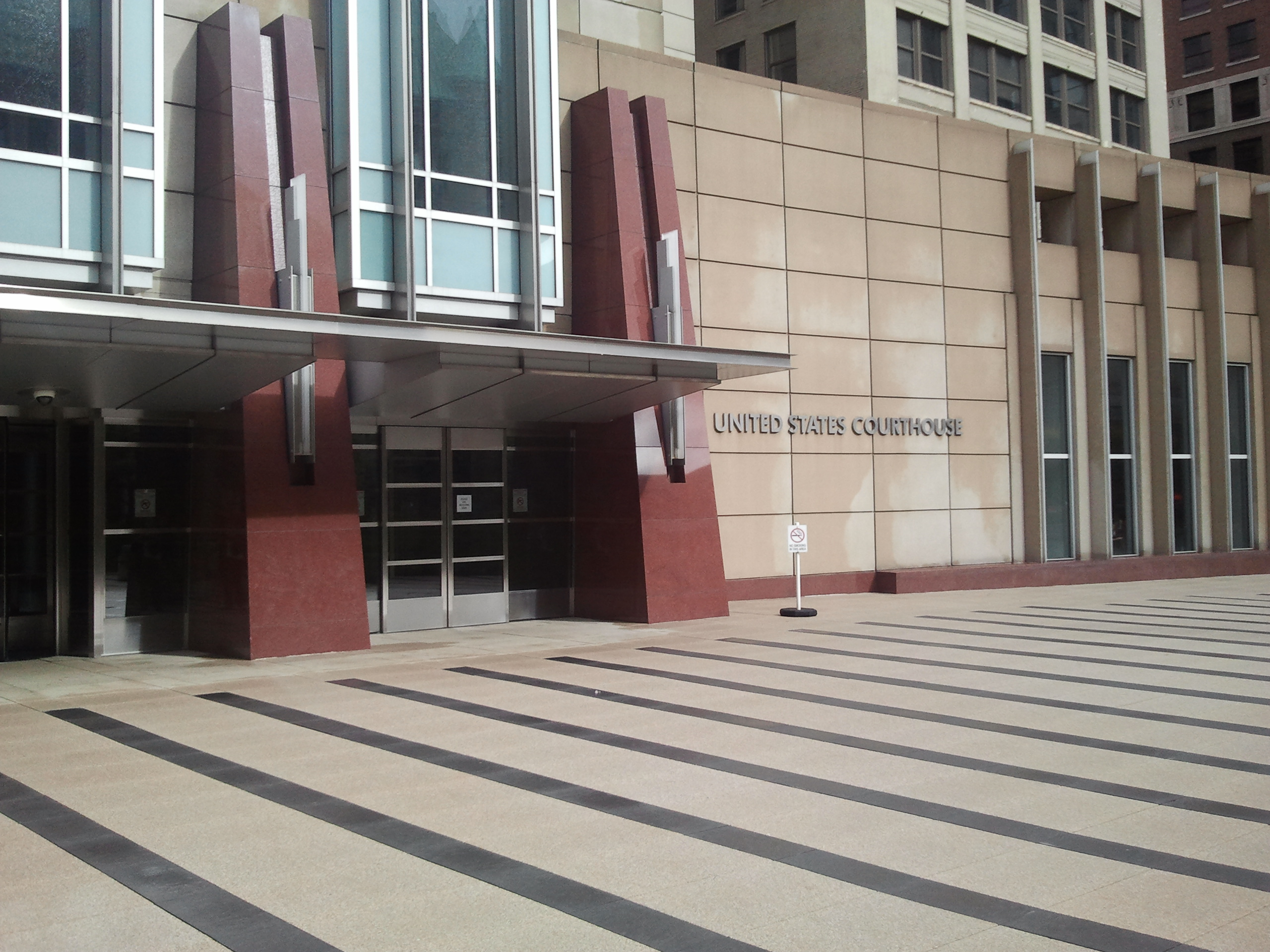 Minneapolis Federal Courthouse, where Hennpin County Bankruptcy cases are filed