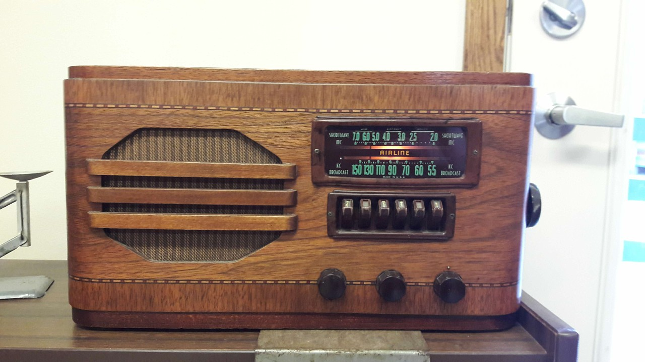 At least this old radio is exempt