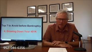 Things to Avoid Before Bankruptcy Item 4